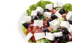 Greek salad platter web