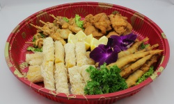 705 harvest assorted karaage platter web