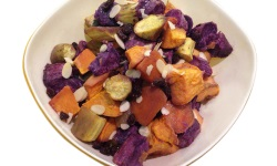 Sweet potato salad platter web