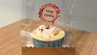 Cheesecup gift pack customised topper