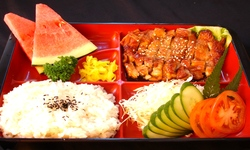 Chicken teriyaki set