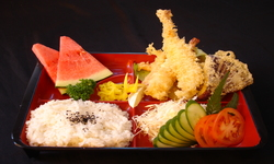 Vegetable tempura set
