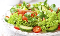 Meatless salad platter web