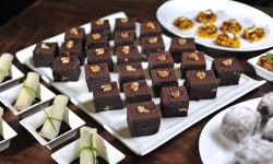 Mini chocolate brownies web