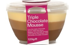 Triple chocolate mousse cup web