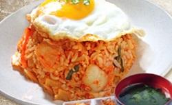 Traditional kimchi fried rice 490x300