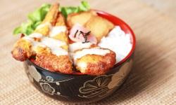 Chicken katsu rice web