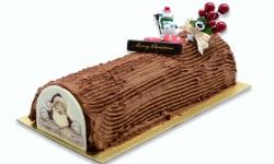 Xmas choco log cake web