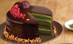 13.chocolate matcha cake