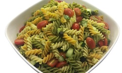 Tri colour pasta salad platter web