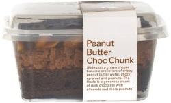 Chocolate peanut butter chunk web