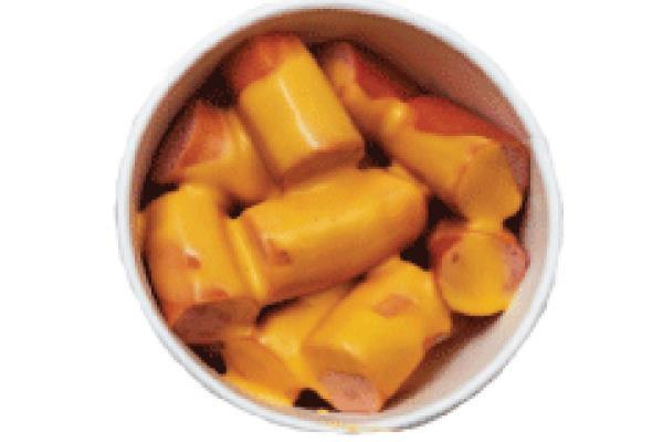 Cheesy sausafe