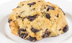 Chocolate chip scone web