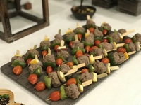 Beef Meatballs Skewers Canapes - YOLO from YOLO