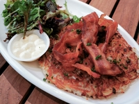 Plain Rosti with Sugardale Bacon from Rösti Haus