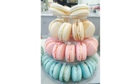 4 Tier Macaron Tower_Annabella Patisserie Catering from Annabella Patisserie