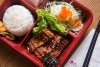 Grilled Eel Bento Box from Urawa Japanese Catering