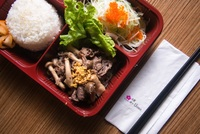 Beef Komiyaki Bento Box from Urawa Japanese Catering