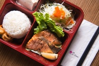 Teriyaki Salmon Box from Urawa Japanese Catering