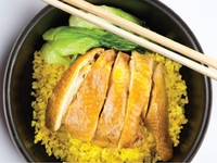 Classic Hainan Chicken Rice from Food Expression