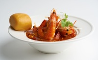 Stir-fried Prawns with Chilli Crab Sauce from Happy Chef by TungLok