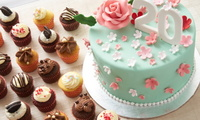 Mini Cupcakes and Fondant Cake Bundle from Twelve Cupcakes