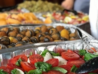 Mozzarella & Arancini Catering from Ask for Alonzo
