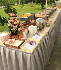 Outdoor Buffet Catering  - Team Catering from Team Catering