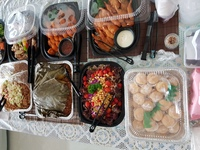 Customer Christine, CNY Mini Buffet A  - Team Catering from Team Catering