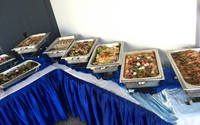 Birthday Party buffet catering Setup - Team Catering from Team Catering