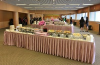Buffet Catering Setup for Graduation Event - Team Catering from Team Catering