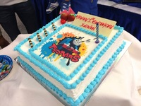 Custom Made Cake for a Birthday Party - Team Catering from Team Catering