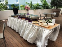 Outdoor Buffet Setup - Team Catering from Team Catering
