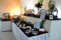 Conference Room Buffet Setup from Foodfest Catering