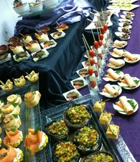 Canapes from Food Fest F&B Pte Ltd