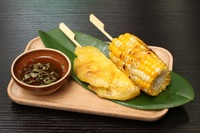 BBQ Corn and Pineapple from The Noodle Hive