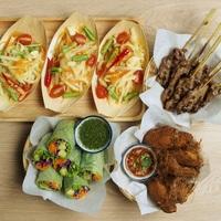 Combo Platter from Ocha Fresh Thai