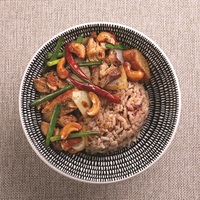 Grilled Chicken with Cashew Nut Rice Bowl from Ocha Fresh Thai