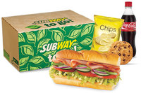 Combo from Subway.