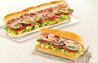 Turkey and Chicken Ham Sub_Subway Catering from Subway.