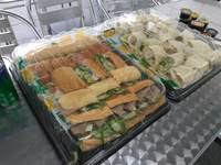 "Classic Combo Regular 4"" SUB Platter and  Subway Fresh Fit Regular 3"" WRAP Platter_Subway Catering from Subway."