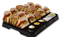 Sub platter_Subway Catering from Subway.