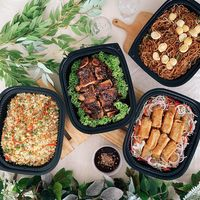 Mini buffets from Alpine Spring Catering