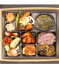 Lunch Meal Box from Seoul Recipe