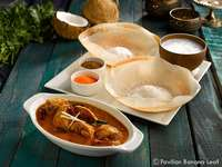 Appam-Chicken-Curry from Pavilion Banana Leaf