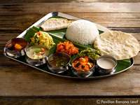 Vegetarian Thali from Pavilion Banana Leaf