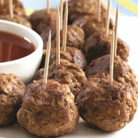 Beef Meat Balls from Pampas Argentinian Steak House