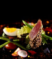 Nicoise Salad (Tuna, Garden Vege) - Gustos Catering from Gustos Catering