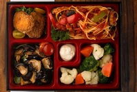 Vegetarian Bento Set - Gustos Catering from Gustos Catering