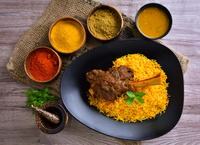 Lamb Shank Briyani - Al-Azhar Restaurant from Al-Azhar Restaurant
